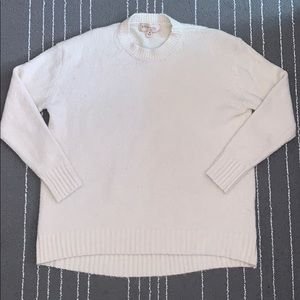 Philosophy republic clothing cream sweater size M